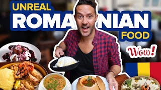 Unreal Romanian Food Tour.  8 MUST TRY DISHES in Bucharest, Romania  Eating Romanian Food