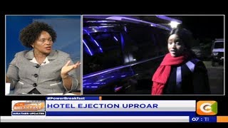 Power Breakfast: Hotel Ejection uproar
