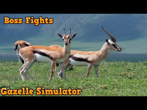 👍Gazelle Simulator VS Bosses -USS- By Gluten free Games - iTunes/Android