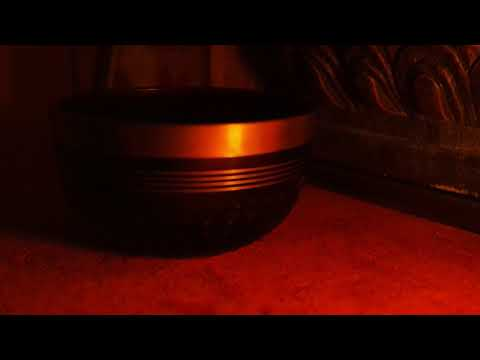 small singing bowl fieldrecording with zoom h2n