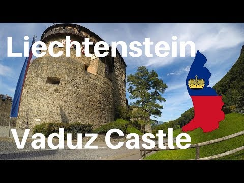Liechtenstein- Vaduz, Vaduz Castle and Gutenberg Castle. 2017, GoPro Hero 6