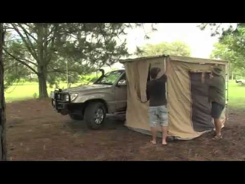 Powerful 4x4 Awning Tent Mp4 Youtube