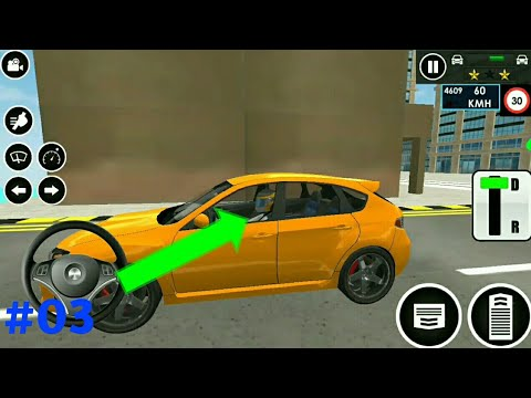 Car driving school 2020 gameplay for android and iOS #03 // By : Vikas Thakral