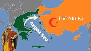 Tại sao Hy Lạp chiếm hết đảo của Thổ Nhĩ Kỳ?