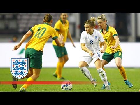England Women 1-0 Australia Women | Goals & Highlights