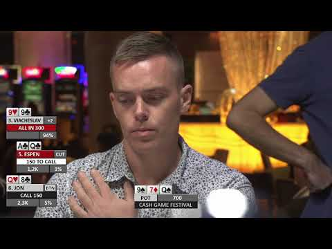 A Pretty Sick Hand - Cash Game Festival Tallinn 2017