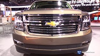 2016 Chevrolet Suburban LTZ - Exterior and Interior Walkaround - 2015 LA Auto Show