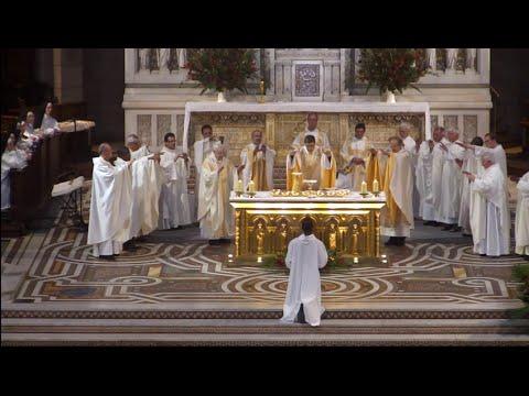Messe de la Fête du Sacre Coeur 12 juin 2015.