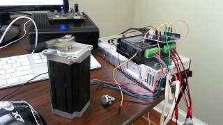 Arduino NEMA 23 DM542A