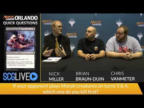 GP Orlando - Quick Questions: Brian Braun-Duin & Chris VanMeter