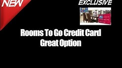 Rooms To Go Credit Card Great Option