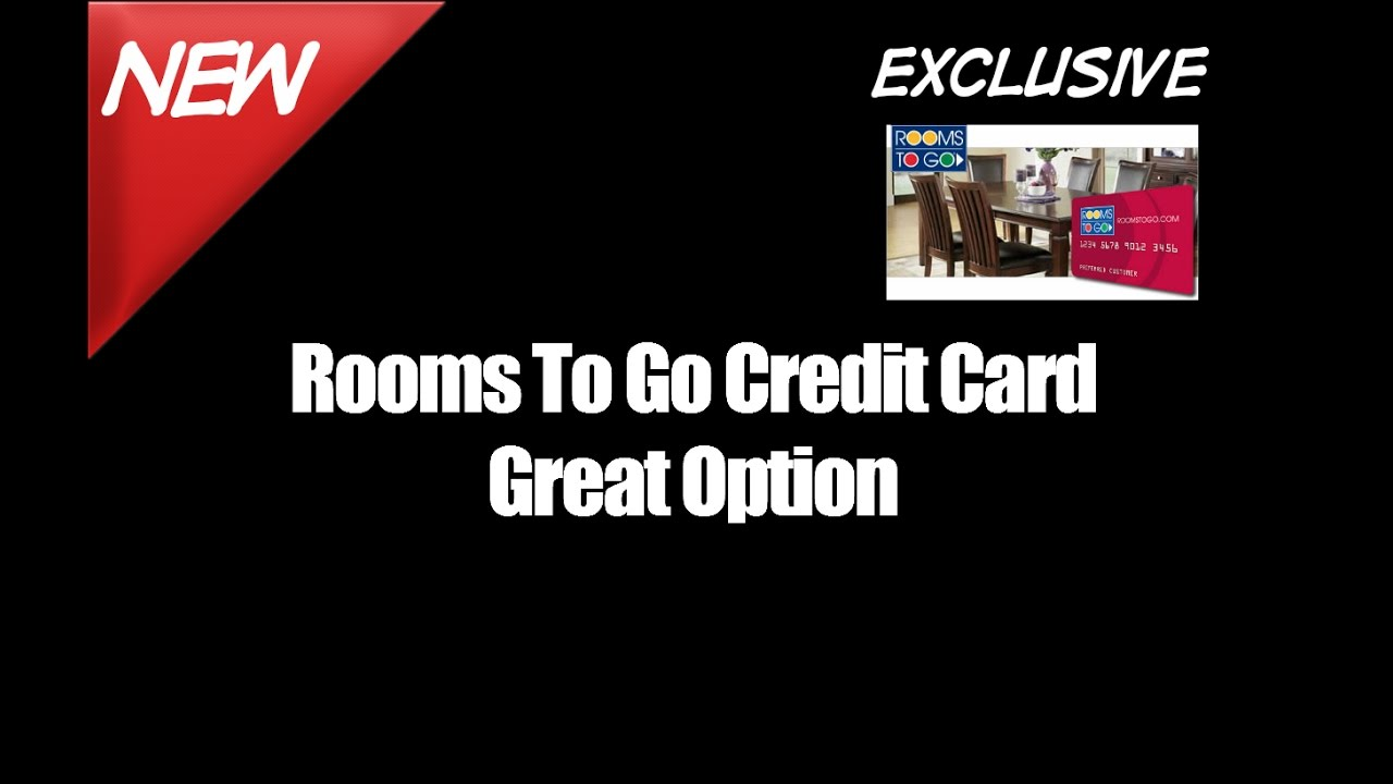 Rooms To Go Credit Card Great Option - YouTube