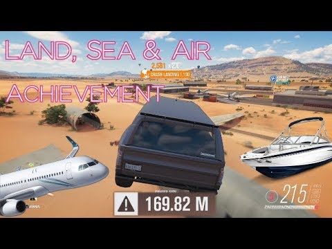 Forza Horizon 3 Hoonigan Car Pack - Land, Sea And Air (Airport Danger Sign) Achievement Guide