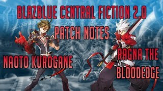 Hey guys! With the announcement of Blazblue Central Fiction 2.0 and...