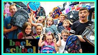WHICH ONE!?  BACK TO SCHOOL BACKPACK SHOPPING!