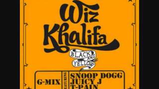 Wiz Khalifa ft. Snoop Dogg, Juicy J & T-Pain -- Black & Yellow (G-mix)