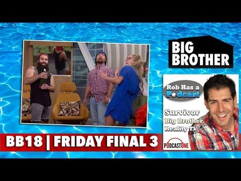 Big Brother 18 Friday 9/16/16 | CBS BB18 Big Brother Update Recap | Sept. 17 Big Brother 2016