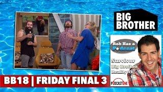 Big Brother 18 Friday 9/16/16   CBS BB18 Big Brother Update Recap   Sept. 17 Big Brother 2016
