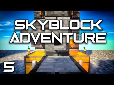 Skyblock Adventures EP5 Tinkers Smeltery + Immersive Engineering