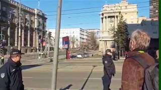 Putin protutnjao ulicom Kneza Miloša!