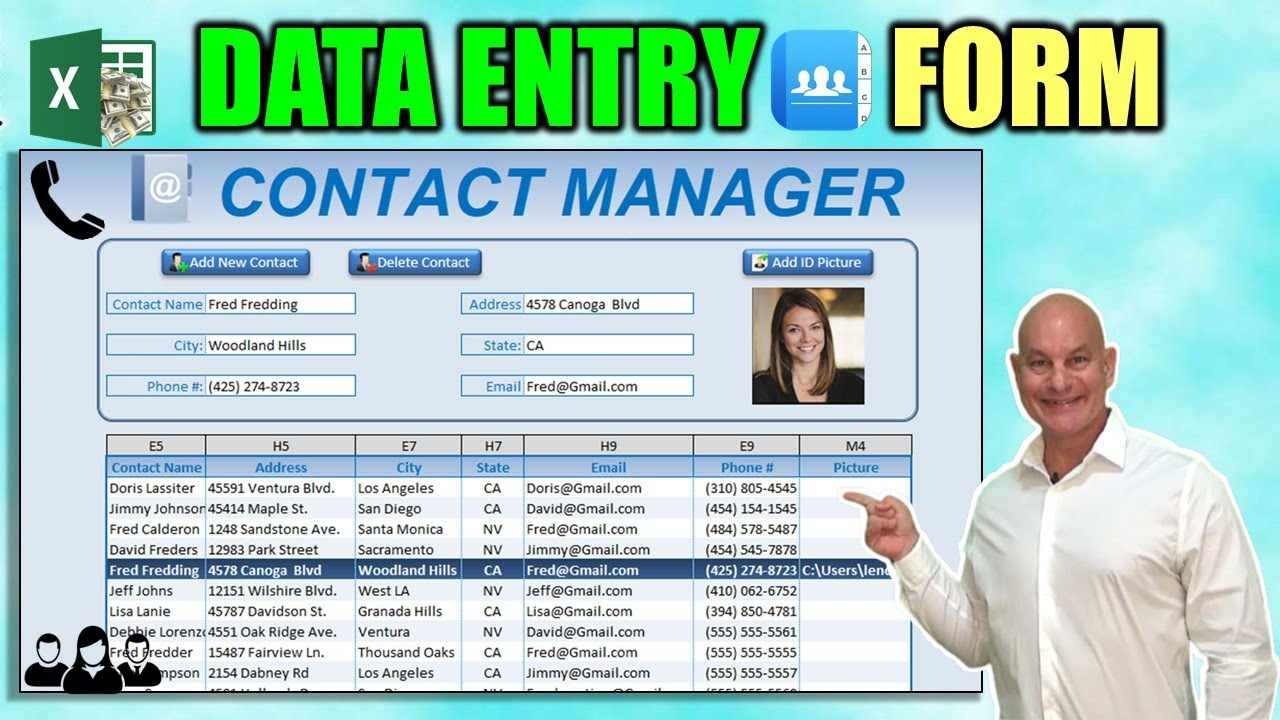 free download data entry software for excel