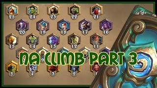 Hearthstone: NA climb part 3 (silence priest)