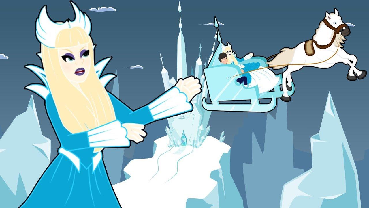 La Reina de las Nieves cuentos infantiles para dormir & animados