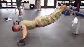 【米軍筋トレ】世界最強!アメリカ陸軍兵士の筋トレが超人すぎる!