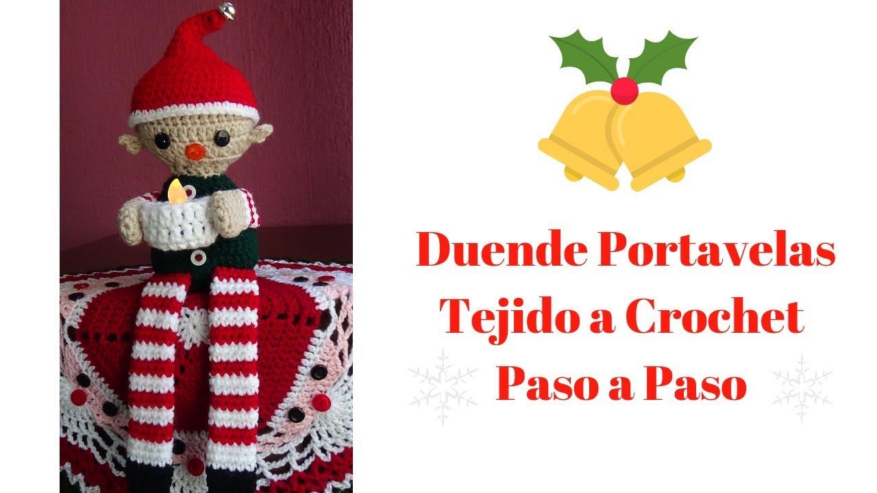 Tejiendo Perú - Mini coronas de Navidad tejidas a crochet ... | 720x1280