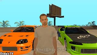 Gta San Andreas Fast And Furious 8 Skins And Cars Mods 2017 Download