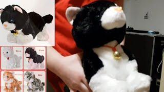 Котёнок как Живой Интерактивная игрушка для детей распаковка обзор