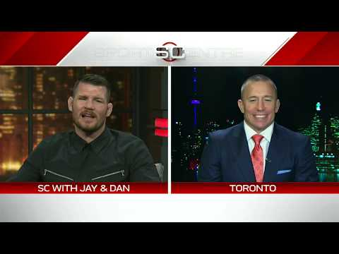 Michael Bisping and Georges St-Pierre trade barbs on Jay and Dan