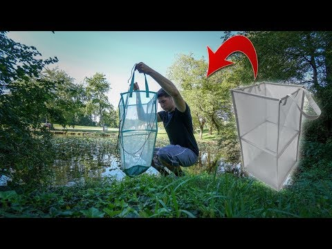 Homemade FISH TRAP!! DIY Laundry Hamper!