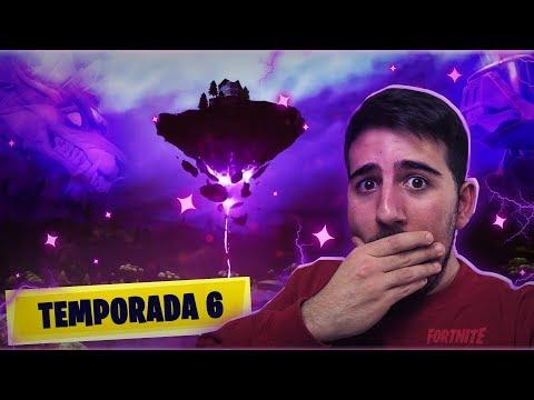 JUGANDO **TEMPORADA 6** DE FORTNITE ! MISTERIOS Y SECRETOS - ElChurches