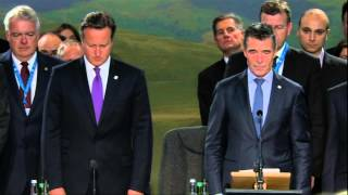 NATO Wales Summit - Ceremony honouring NATO military personnel, 04 SEP 2014