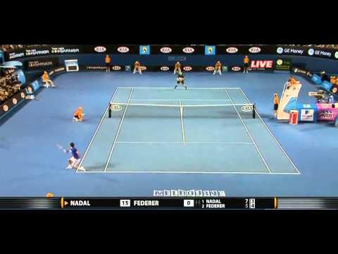 Australian Open 2009 Final Nadal vs Federer Extended Highlights