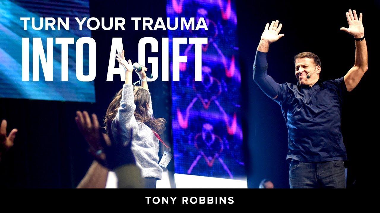Turn your trauma into a gift | Tony Robbins Podcast