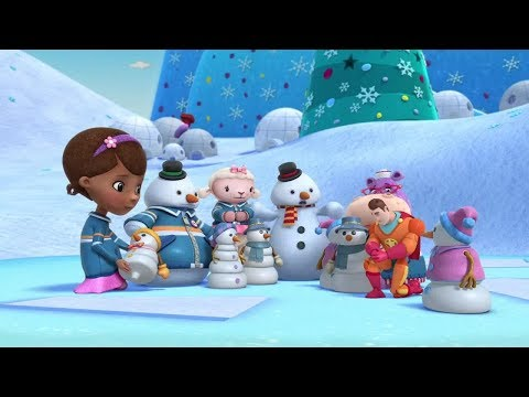 Doc McStuffins S04E08 Toy Hospital Chilly's Snow Globe Shakeup and Hoarse Hallie