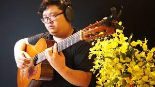 Vài Lần Đón Đưa | Độc Tấu Guitar|| Mèo Ú Guitar | Nhạc Guitar Cảm Xúc