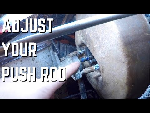 Brake Booster Push Rod Adjustment