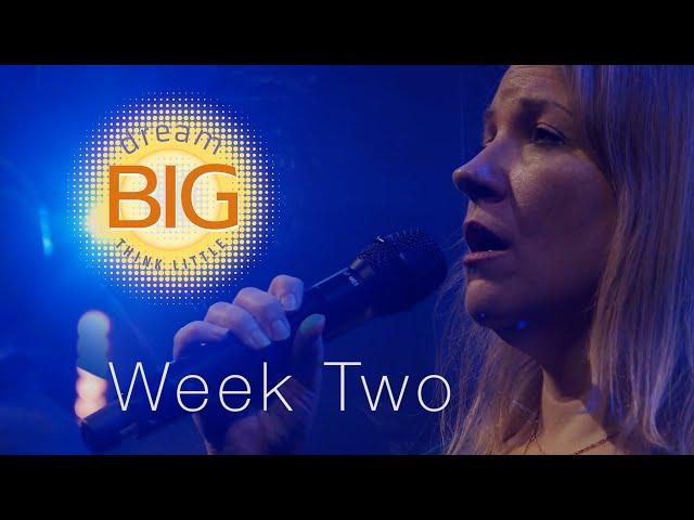 Dream Big Think Little   Week 2   Sunday Mass for April 11