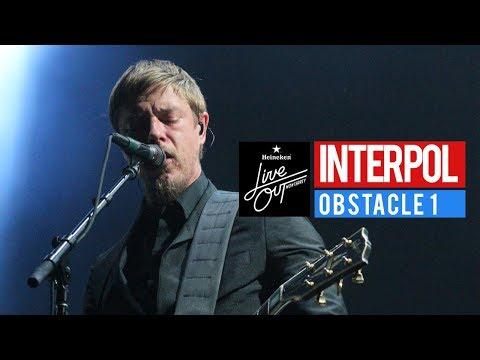 #LiveOut17 - Interpol En Vivo - Obstacle 1