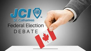 opening remarks jci federal election debate