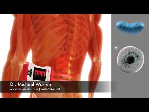 How The Erchonia Low Level Laser Helps Treat Low Back Pain. (Quick Version)