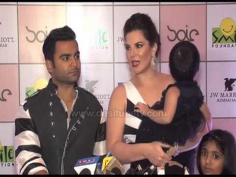 Urvashi Sharma Husband Urvashi Sharma With He...