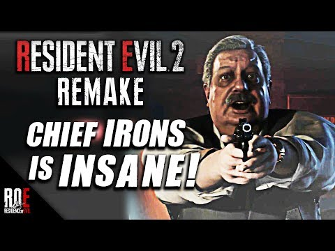 RESIDENT EVIL 2: REMAKE || BRIAN IRONS - FIRST LOOK & Impressions | HE'S INSANE!
