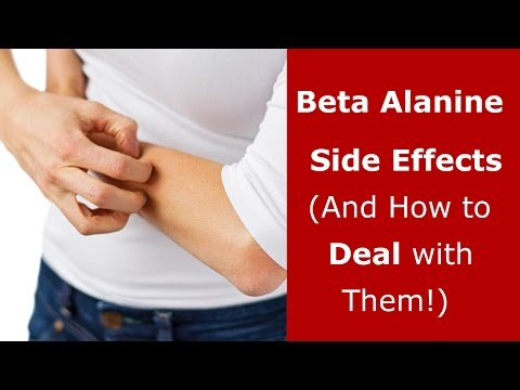 Beta alanine allergy