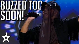 Judge Buzzed Too Soon on AMAZING Singer/Rapper | Got Talent Global