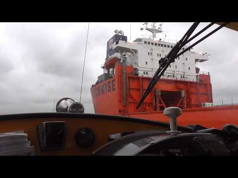 Tour through the Port of Rotterdam with the Watertaxi!