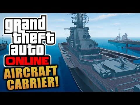 "GTA 5 Online - ""Aircraft Carrier 96"" INTERIOR & LOCATION + Everything YOU Need To Know!"